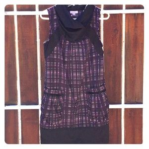 Richard Chai 4 Target Purple/Black dress sz M NWT